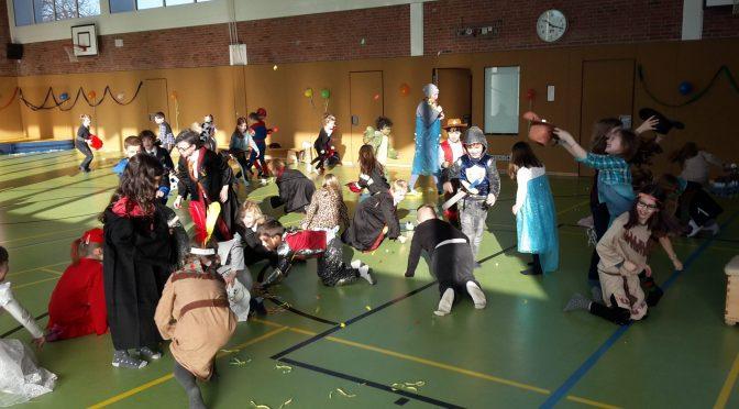 Fasching geht auch im Norden an der Schule Bindfeldweg