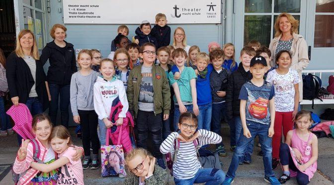 """Teilnahme am Wettbewerb """"Theater macht Schule"""""""