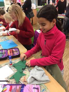 Adventsbasteln und Tag der offenen Tür an der Schule Bindfeldweg